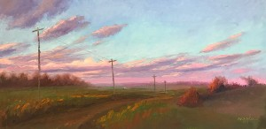 "Melissa Gryder, ""Down the Road"", Oil"
