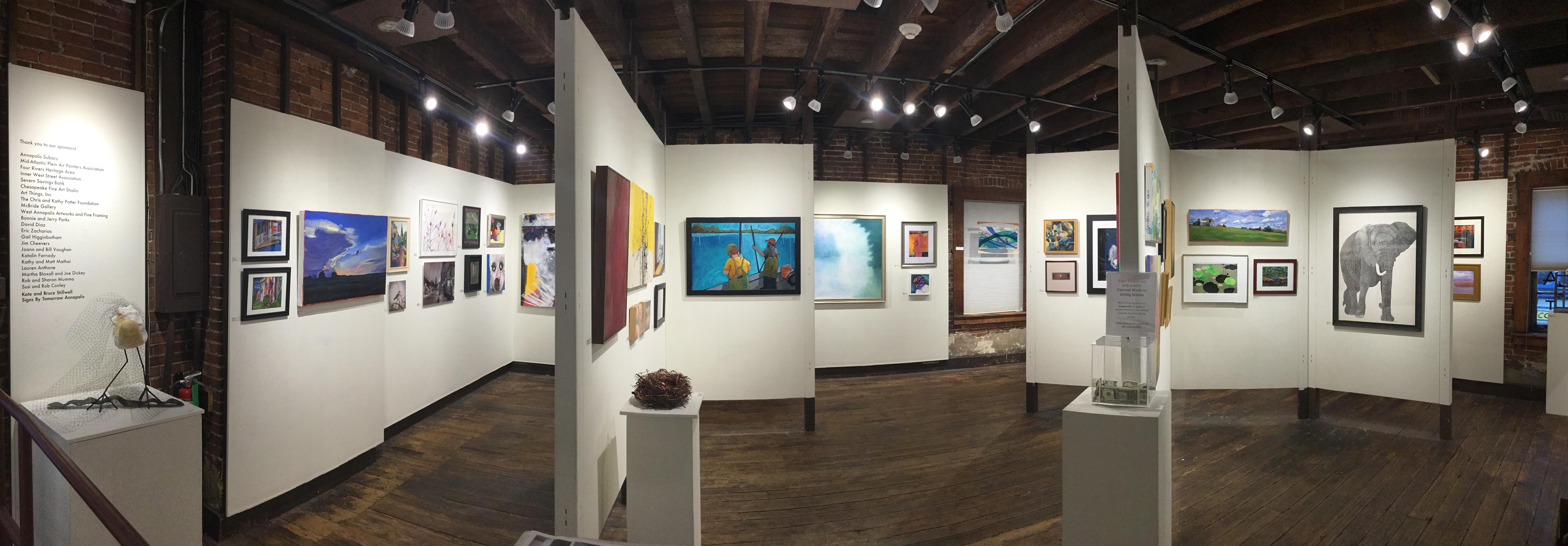 Exhibition Stand Galleries : Maryland federation of art