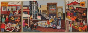 """""""Silver Spring Marketplace"""" by Sarah Lee Province"""