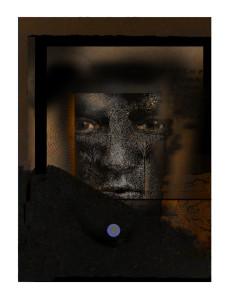"Robert S. Hunter, ""Lament"", original digital print for Focal Point  2020"