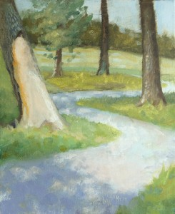 Anacostia Trail, Oil on Panel, Mike McSorley