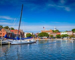 Annapolis Harbor, Digital Photograph on Metal, Bob Peterson
