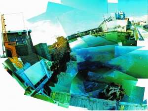 phillip schewe, Gowanus Canal, Metallic Photo Print