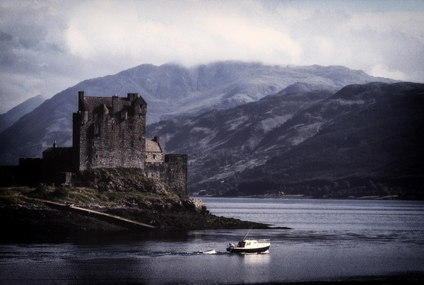 Eilean Donan Castle at Dusk, Archival Photograph, Ron Colbroth