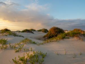 Sunset on The Dunes, photography, gaetana D ebbole