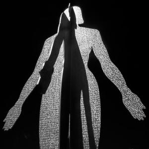 """David John Bartlett, """"Sculptures:Grand Rapids"""", digital photograph:inkjet print, for Light and Shadow 2020"""