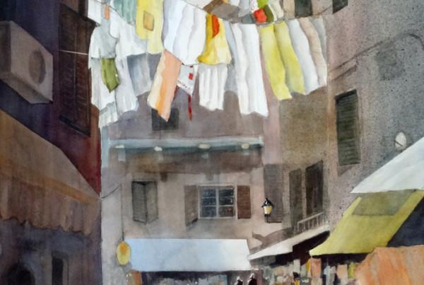 Kay Fuller Italian Laundry Day