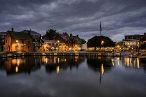 Annapolis Harbor, October Morning, archival digital photograph, Lee Goodwin