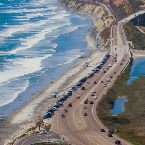 Allen E Neyman, San Diego Freeway, computational digital photo, 20x20