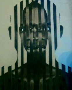 Oluwatobi Kehinde Adewumi, Double Sided, charcoal, 22x28